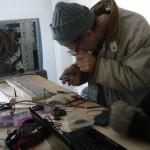 Mise au point de capteurs thermiques